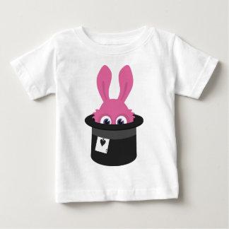 Camiseta De Bebé Conejito rosado lindo para Pascua feliz