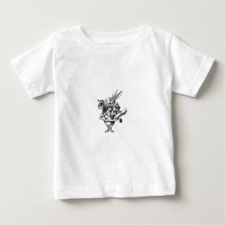 Camiseta De Bebé Conejo blanco