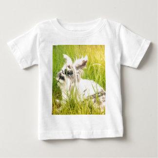 Camiseta De Bebé Conejo blanco y negro