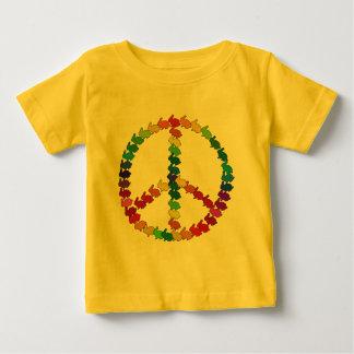 Camiseta De Bebé Conejos de la paz