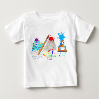 Camiseta De Bebé ¡Cono de helado! Edición fresca de la pintura