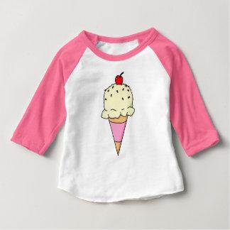 Camiseta De Bebé Cono poner crema de Vanilla Ice