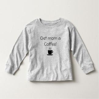 Camiseta De Bebé Consiga a mamá un café
