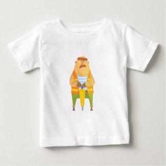 Camiseta De Bebé Constructor con el martillo perforador en