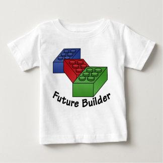 Camiseta De Bebé Constructor futuro - bloques huecos