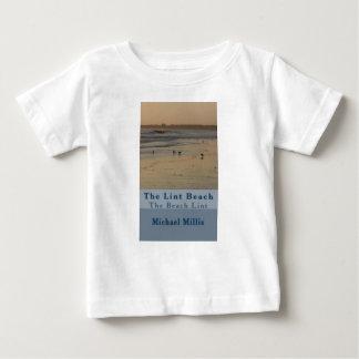 Camiseta De Bebé contente la playa TLB de la pelusa