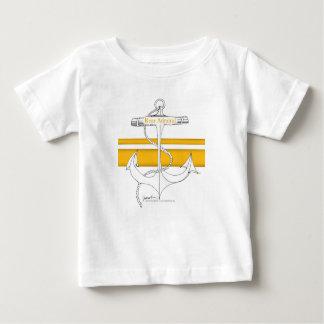 Camiseta De Bebé contralmirante del oro, fernandes tony