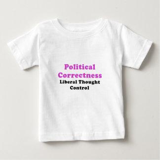 Camiseta De Bebé Control de pensamiento liberal de la corrección