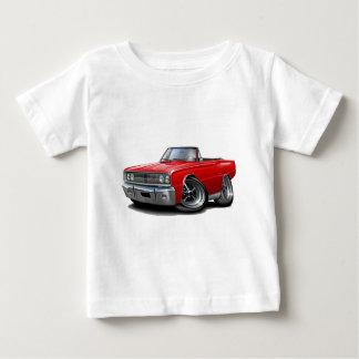 Camiseta De Bebé Convertible rojo 1967 del RT de la corona