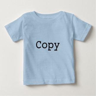 """Camiseta De Bebé Copia y goma para los gemelos """"COPIA """""""