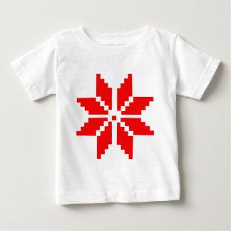 Camiseta De Bebé Copo de nieve nórdico