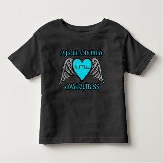 Camiseta De Bebé Corazón/alas… Dysautonomia