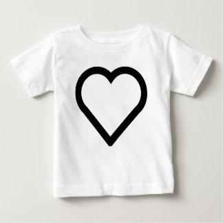 Camiseta De Bebé Corazón bonito