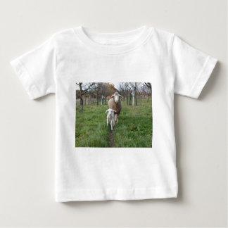 Camiseta De Bebé Cordero y ovejas
