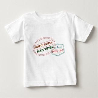 Camiseta De Bebé Corea del Norte allí hecho eso