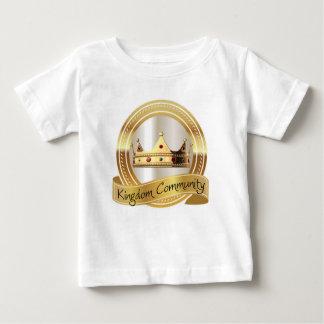 Camiseta De Bebé Corona de la comunidad del reino