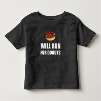 Camiseta De Bebé Correrá para los anillos de espuma