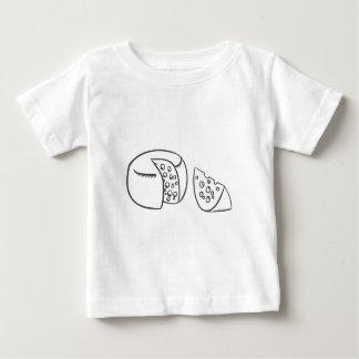 Camiseta De Bebé Corte el bloque de queso suizo