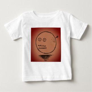 Camiseta De Bebé Cosa feliz de la luna de la cara