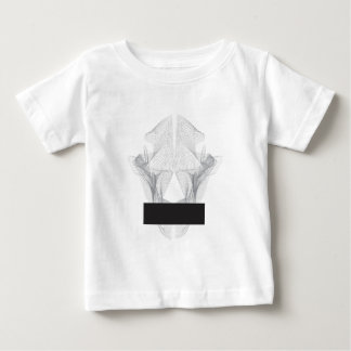 Camiseta De Bebé Cráneo abstracto del oso