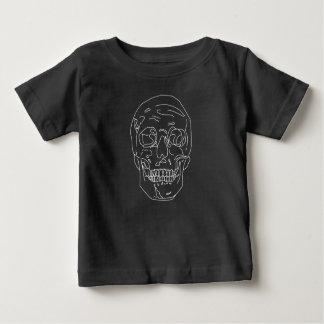Camiseta De Bebé Cráneo alineado
