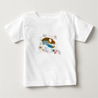 Camiseta De Bebé Cráneo de Meerkat
