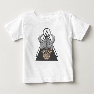 Camiseta De Bebé Cráneo de Viking