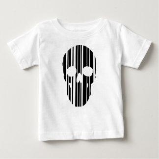 Camiseta De Bebé Cráneo del código de barras