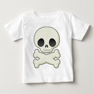 Camiseta De Bebé cráneo lindo
