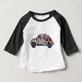 Camiseta De Bebé Cráneos del azúcar que le miran