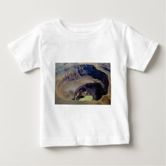 Camiseta De Bebé cráter volcánico profundo