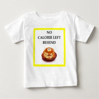 Camiseta De Bebé crepes