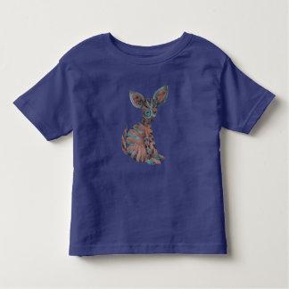 Camiseta De Bebé Criatura dulce de Fennec del tigre