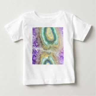 Camiseta De Bebé Cristales del caramelo del cuarzo