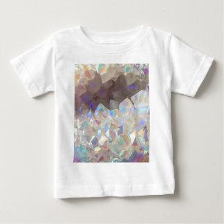 Camiseta De Bebé Cristales iridiscentes de la aureola