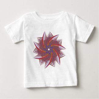 Camiseta De Bebé cromático prismático colorido
