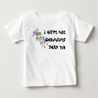 Camiseta De Bebé Cromosomas