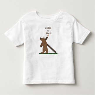 Camiseta De Bebé Cruz a llevar (niño t)