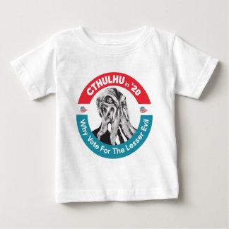 Camiseta De Bebé Cthulhu para el presidente en '20