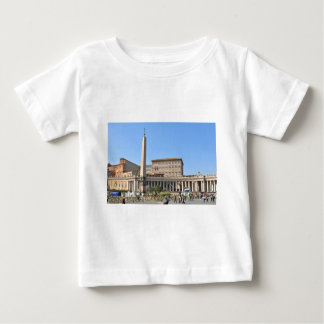 Camiseta De Bebé Cuadrado en Roma, Italia
