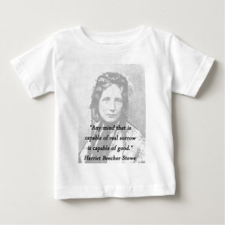Camiseta De Bebé Cualquie mente - Harriet Beecher Stowe