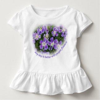 """Camiseta De Bebé """"Cualquier día es mejor con el niño T de las"""