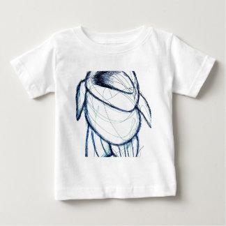 Camiseta De Bebé Cuando los robots son lindos y para todos trabaja