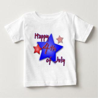 Camiseta De Bebé Cuarto de la celebración de julio