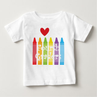 Camiseta De Bebé Cuarto grado teacher2