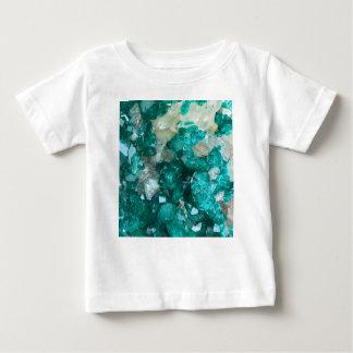 Camiseta De Bebé Cuarzo del caramelo de roca del trullo