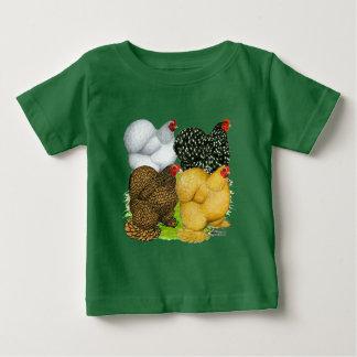 Camiseta De Bebé Cuatro gallinas de Cochin