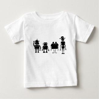 Camiseta De Bebé Cuatro robots