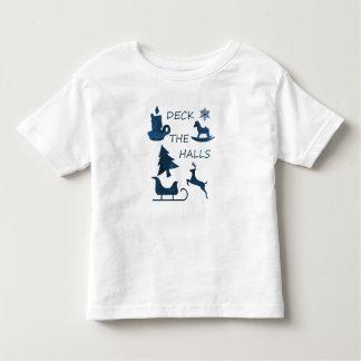 Camiseta De Bebé Cubierta los pasillos