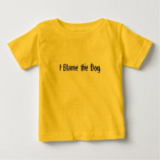 Camiseta De Bebé Culpo el perro